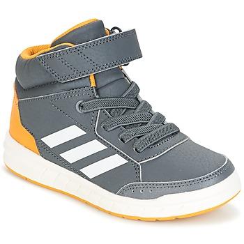 Scarpe Bambino Sneakers alte adidas Performance ALTASPORT MID EL K Grigio
