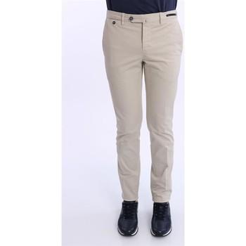 Abbigliamento Uomo Pantaloni Pt01/pt05 PANTALONE  BEIGE IN COTONE Beige
