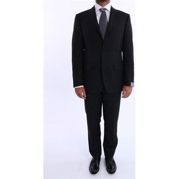 Abbigliamento Uomo Completi Cantarelli ABITO UOMO  IN FRESCO DI LANA NERO Black