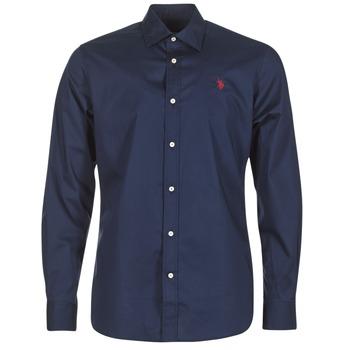 Abbigliamento Uomo Camicie maniche lunghe U.S Polo Assn. ZED Marine