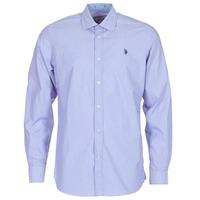 Abbigliamento Uomo Camicie maniche lunghe U.S Polo Assn. RUSTY MARINE