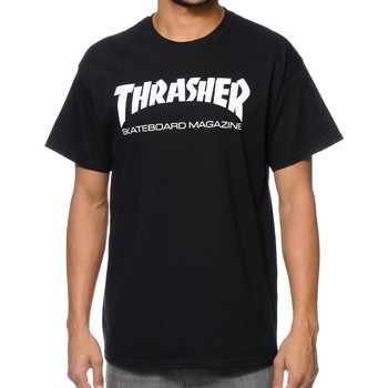 Abbigliamento Uomo T-shirt maniche corte Thrasher CAMISETA  SKATE MAG NEGRO HOMBRE Nero