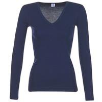 Abbigliamento Donna T-shirts a maniche lunghe Petit Bateau LEOSA Marine