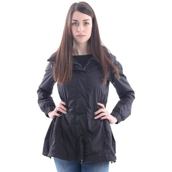 Abbigliamento Donna Parka Add IMPERMEABILE  IN NYLON NERO Black