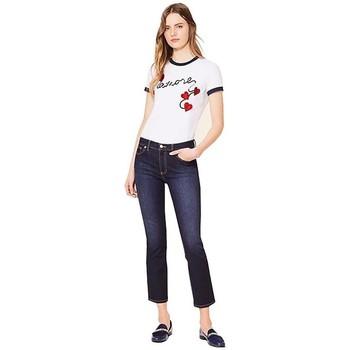 Abbigliamento Donna T-shirt maniche corte Tory Burch T-SHIRT  AMORE White
