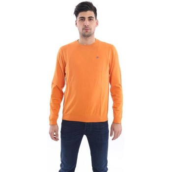 Abbigliamento Uomo Maglioni Napapijri PULLOVER  ARANCIONE Orange
