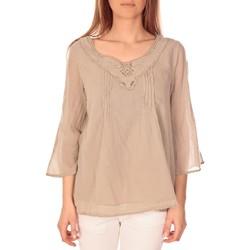 Abbigliamento Donna Top / Blusa Vision De Reve vision de rêve tunique 9005 Taupe Grigio