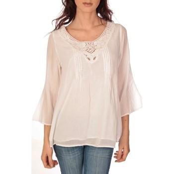 Abbigliamento Donna Top / Blusa Vision De Reve vision de rêve tunique 9005 blanc Bianco