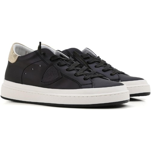 Scarpe Donna Sneakers basse Philippe Model Sneakers  donna in pelle nero