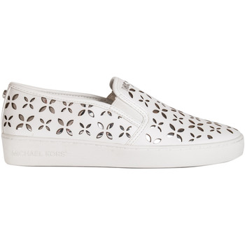 Scarpe Donna Slip on MICHAEL Michael Kors CALZATURE SLIP ON DONNA 43T6KTFP 2L 898 OPT-SILVER PE Bianco