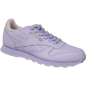 Scarpe Unisex bambino Sneakers Reebok Sport Classic Leather Violet