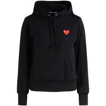 Abbigliamento Donna Felpe Comme Des Garcons Felpa  nero cuore rosso Nero