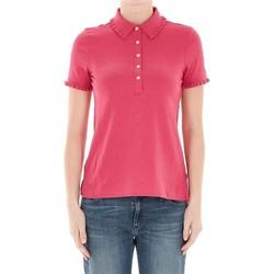 Abbigliamento Donna Polo maniche corte Tory Burch POLO ROSSA Red