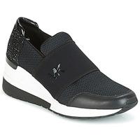 Scarpe Donna Sneakers basse MICHAEL Michael Kors FELIX TRAINER Nero