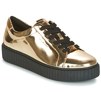 Scarpe Donna Sneakers basse MICHAEL Michael Kors TRAVOR LACE UP Oro