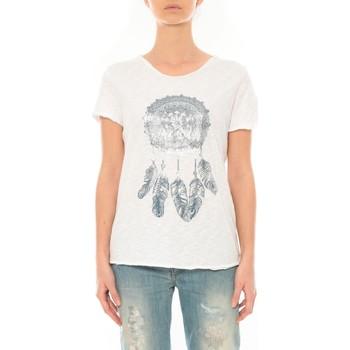 Abbigliamento Donna T-shirt maniche corte By La Vitrine Tee Shirt Blanc Cake V Bianco