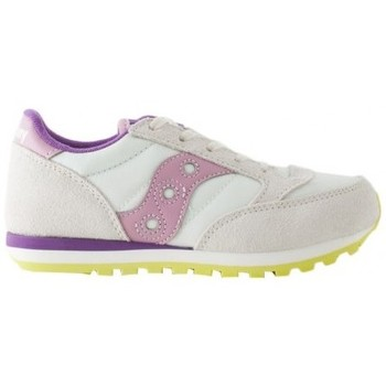 Scarpe Bambino Sneakers Saucony Sneakers Jazz Off white pink purple junior Multicolor