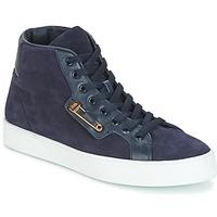 Scarpe Uomo Sneakers alte John Galliano FAROM Marine