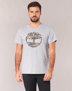 Abbigliamento Uomo T-shirt maniche corte Timberland DUNSTAN RIVER CAMO PRINT Grigio