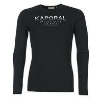 Abbigliamento Uomo T-shirts a maniche lunghe Kaporal PONIO Nero