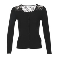 Abbigliamento Donna Gilet / Cardigan Naf Naf MOBRANDY Nero