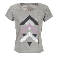 Abbigliamento Donna T-shirt maniche corte Only Play LINDA Grigio