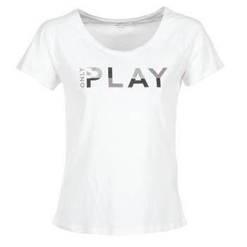 Abbigliamento Donna T-shirt maniche corte Only Play LINDA Bianco
