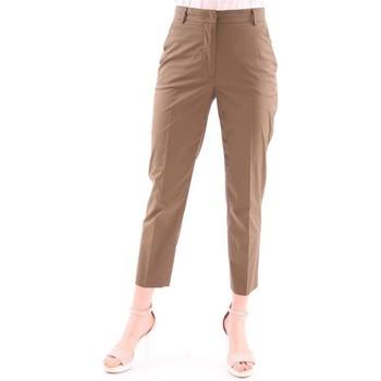 Abbigliamento Donna Pantaloni Seventy PANTALONE  IN COTONE LEGGERO POPELINE BEIGE Beige