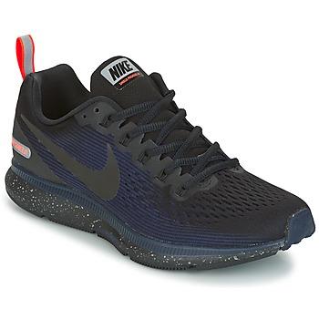 Scarpe Donna Running / Trail Nike AIR ZOOM PEGASUS 34 SHIELD Nero / Blu