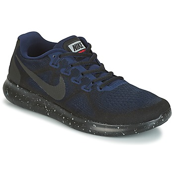 Scarpe Donna Running / Trail Nike FREE RUN 2017 SHIELD Nero / Blu