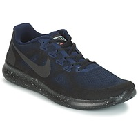 Scarpe Uomo Running / Trail Nike FREE RUN 2017 SHIELD Nero / Blu
