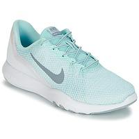 Scarpe Donna Fitness / Training Nike FLEX TRAINER 7 REFLECT W Bianco / Verde
