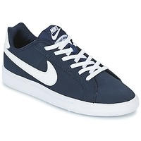 Scarpe Bambino Sneakers basse Nike COURT ROYALE GRADE SCHOOL Blu / Bianco