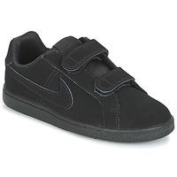 Scarpe Bambino Sneakers basse Nike COURT ROYALE PRE-SCHOOL Nero