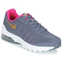 Scarpe Bambina Sneakers basse Nike AIR MAX INVIGOR GRADE SCHOOL Blu / Rosa