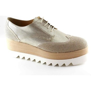 Scarpe Donna Derby Divine Follie DIV-E17-121-BE Beige