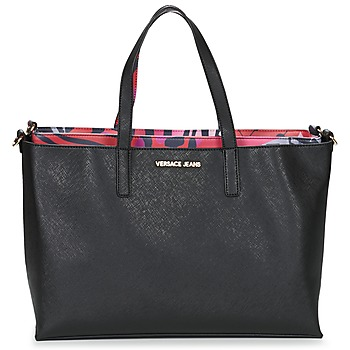 Borse Donna Tote bag / Borsa shopping Versace Jeans ANTALOS Nero / Rosso / Multicolore