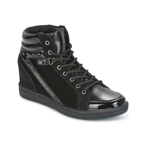 Versace Jeans GERFI Nero  Scarpe Sneakers alte Donna 105