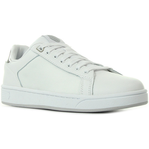 K-Swiss Clean Crtt Cmff White Silver Bianco Scarpe Sneakers Donna 49,99