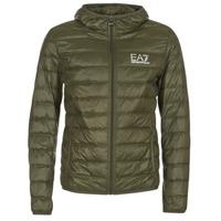 Abbigliamento Uomo Piumini Emporio Armani EA7 TRAIN CORE ID DOWN LIGHT HD KAKI