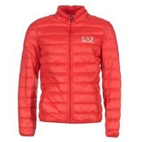 Abbigliamento Uomo Piumini Emporio Armani EA7 TRAIN CORE ID DOWN LIGHT JKT Rosso