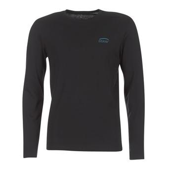 Abbigliamento Uomo T-shirts a maniche lunghe Oxbow TEITH Nero