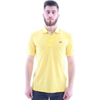Abbigliamento Uomo T-shirt & Polo Napapijri POLO  GIALLA Yellow