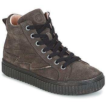 Scarpe Bambina Sneakers alte Acebo's LONDON Grigio