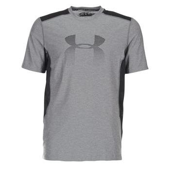 Abbigliamento Uomo T-shirt maniche corte Under Armour UA RAID GRAPHIC SS Grigio / Nero