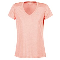 Abbigliamento Donna T-shirt maniche corte Under Armour TECH SSV - TWIST CORAIL