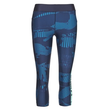 Abbigliamento Donna Leggings Under Armour UA HG ARMOUR GRAPHIC CAPRI Blu