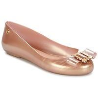 Scarpe Donna Ballerine Melissa VW SPACE LOVE 18 ROSE GOLD BUCKLE Rosa / Oro