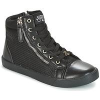 Scarpe Donna Sneakers alte Le Temps des Cerises KIM Nero