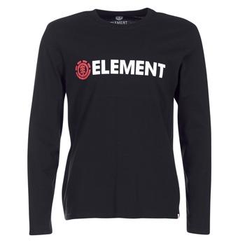 Abbigliamento Uomo T-shirts a maniche lunghe Element BLAZIN LS Nero